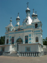 Church named after Saint Alexander Nevskiy (Cemetery 1 on S.P.Botkin street)